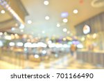 abstract blur shopping mall and ...   Shutterstock . vector #701166490