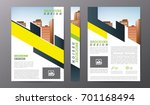 business brochure or flyer... | Shutterstock .eps vector #701168494