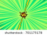 comic book versus background ... | Shutterstock .eps vector #701175178