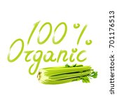 vector illustration of green... | Shutterstock .eps vector #701176513