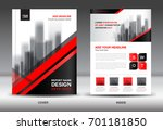 annual report brochure flyer... | Shutterstock .eps vector #701181850