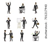 business  finance and office...   Shutterstock .eps vector #701217940