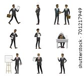 business  finance and office... | Shutterstock .eps vector #701217949