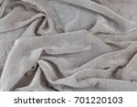 folded silky smooth fabric... | Shutterstock . vector #701220103