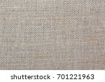 the texture of the natural linen | Shutterstock . vector #701221963