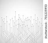 abstract technology background | Shutterstock .eps vector #701225953