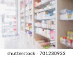 pharmacy store interior with... | Shutterstock . vector #701230933