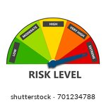 risk indicator | Shutterstock . vector #701234788
