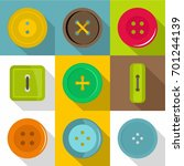 different button icons set.... | Shutterstock .eps vector #701244139