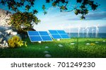 renewable energy concept  ... | Shutterstock . vector #701249230