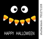 Happy Halloween. Scary Face...