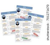 raster illustration job... | Shutterstock . vector #701271670