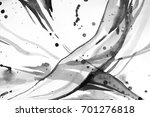 black and white abstract... | Shutterstock . vector #701276818