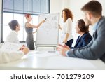 presentation in consulting... | Shutterstock . vector #701279209