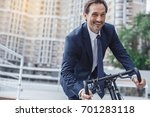 senior business man with a... | Shutterstock . vector #701283118