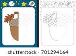 preschool worksheet for... | Shutterstock .eps vector #701294164