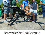 baltijsk  russia   july 30 ... | Shutterstock . vector #701299834