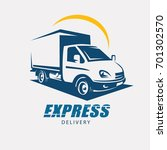 delivery and shipping service... | Shutterstock .eps vector #701302570