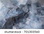 smoky charcoal | Shutterstock . vector #701303560