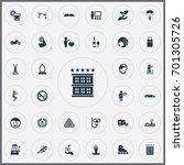 vector illustration set of... | Shutterstock .eps vector #701305726