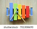xylophone toy | Shutterstock . vector #701308690