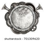 metal frame and old auto spare... | Shutterstock . vector #701309620