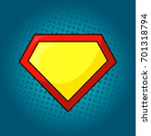 superhero logo template at... | Shutterstock . vector #701318794