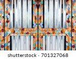 shiny oil painting steel door
