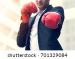 close up of businessman wear... | Shutterstock . vector #701329084