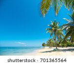 beach and tropical sea | Shutterstock . vector #701365564