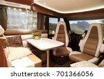 interior of recreational... | Shutterstock . vector #701366056