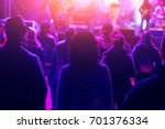 people at the concert in the... | Shutterstock . vector #701376334