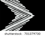 black and white vector... | Shutterstock .eps vector #701379730