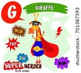 super big set. cute vector zoo...   Shutterstock .eps vector #701387593