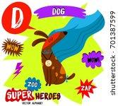 super big set. cute vector zoo...   Shutterstock .eps vector #701387599