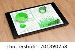 digital financial analysis for... | Shutterstock . vector #701390758