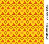 seamless abstract geometric... | Shutterstock . vector #701391058