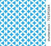 seamless abstract geometric... | Shutterstock . vector #701391064