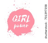 Girl Power Hand Drawn...