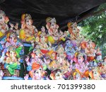 happy ganesh chathurthi. indian ... | Shutterstock . vector #701399380