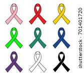 colorful simple awareness... | Shutterstock .eps vector #701401720