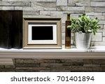 mini photo frame  vintage... | Shutterstock . vector #701401894