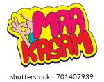 hindi chat stickers   mother's...   Shutterstock .eps vector #701407939