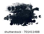 abstract ink background. marble ... | Shutterstock . vector #701411488