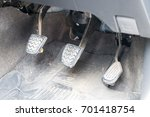 Small photo of Car pedal Clutch, Brake and Accelerator