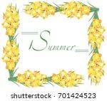 illustration on white... | Shutterstock .eps vector #701424523