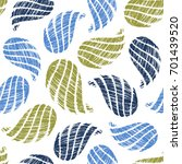 seamless pattern with... | Shutterstock .eps vector #701439520