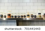 jars of spices and seasonings... | Shutterstock . vector #701441443