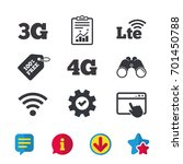 mobile telecommunications icons....