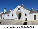 alberobello  italy   july 31 ... | Shutterstock . vector #701474584